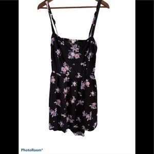 3/$30 garage floral open back summer dress